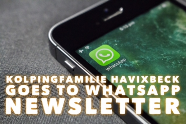 Kolping goes to WhatsApp: Unser Newsletter